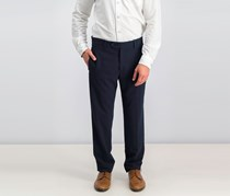 Men's Skinny Suit Trousers, Navy