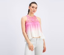 Pepe jeans Women's Ombre Tops, Pink/Ivory