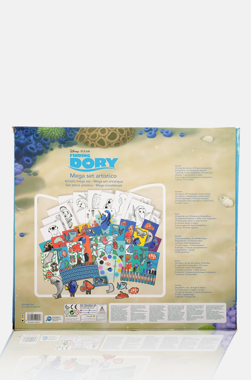 Shop Toy Triangle Holographic Artistic Mega Set Finding The Dory