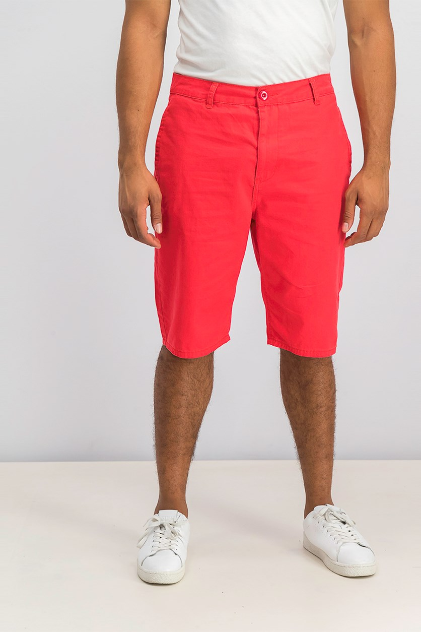 Men's Lifted Outdoors Shorts, Red
