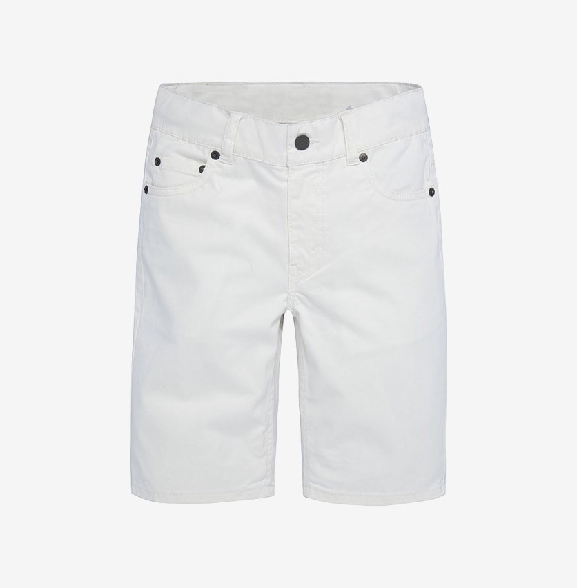 Big Boys 511 Sueded Shorts, White