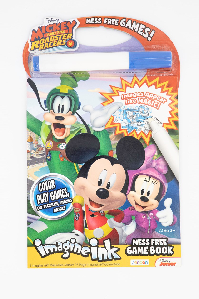 Disney MIckey And The Roadster Racers Pad, White Combo