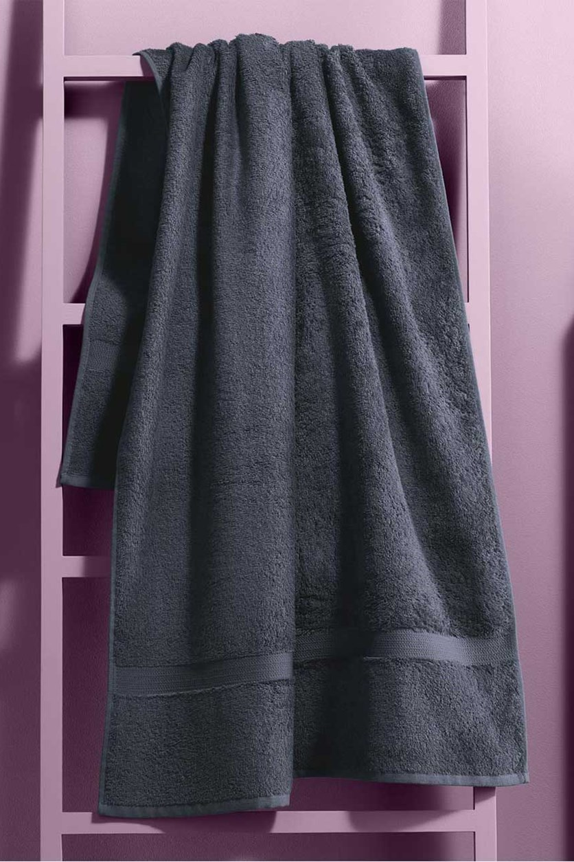 Bath Towel, anthracite