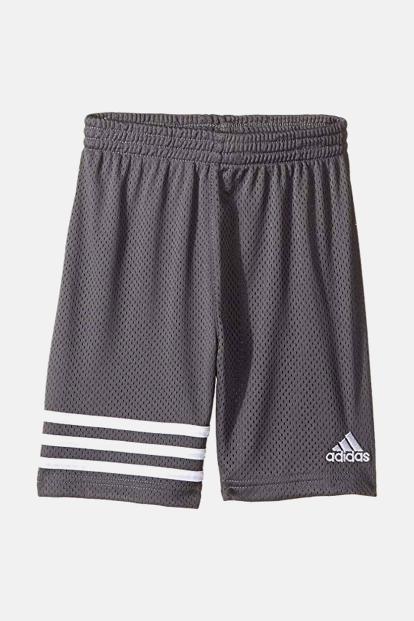 Adidas Baby Boys Defender Impact Shorts, Gray