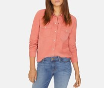 Sanctuary Utility Shirt, Salmon