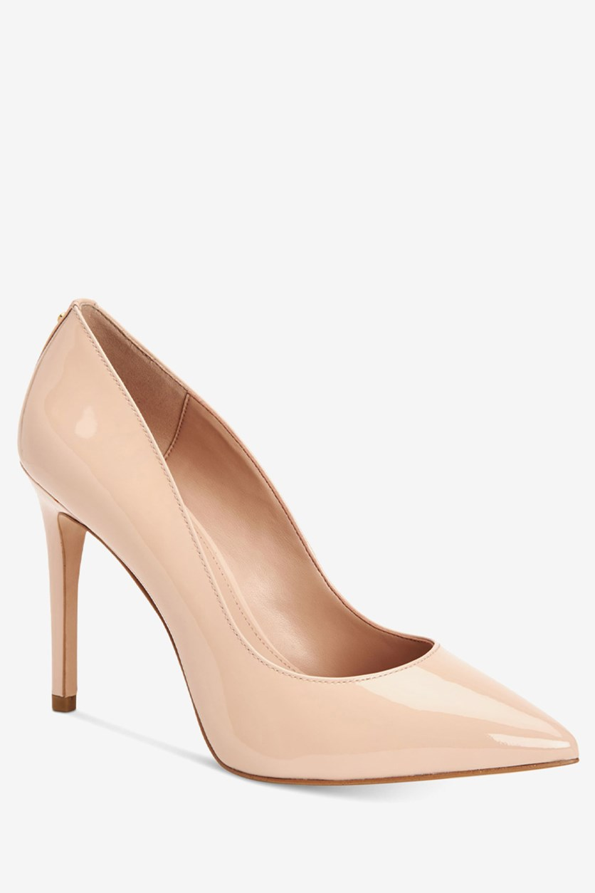 Women's Heidi Smooth Patent Pumps, Shell