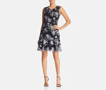 Le Gali Women's Roseanna Floral Sleeveless Cocktail Dress, Grey Combo