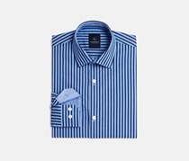 TailorByrd Long Sleeve Button-Up Shirt, Blue