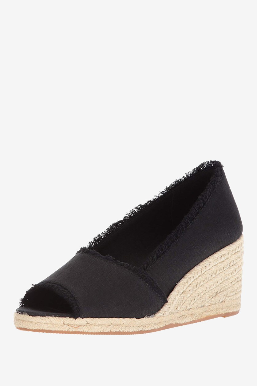 Women's Carmondy Espadrille Wedge Sandal, Black