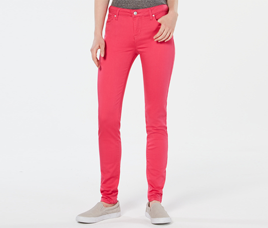Celebrity Pink Women's Skinny Stretch Jeans, Hot Pink