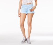 Celebrity Pink Women's Cuffed Colored Shorts, Blue