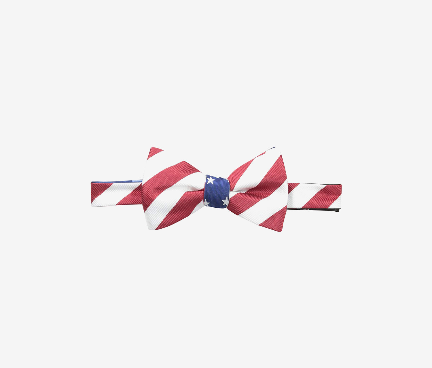 Countess Mara Stars Stripes Self-Tie Bow Tie, Navy/Red