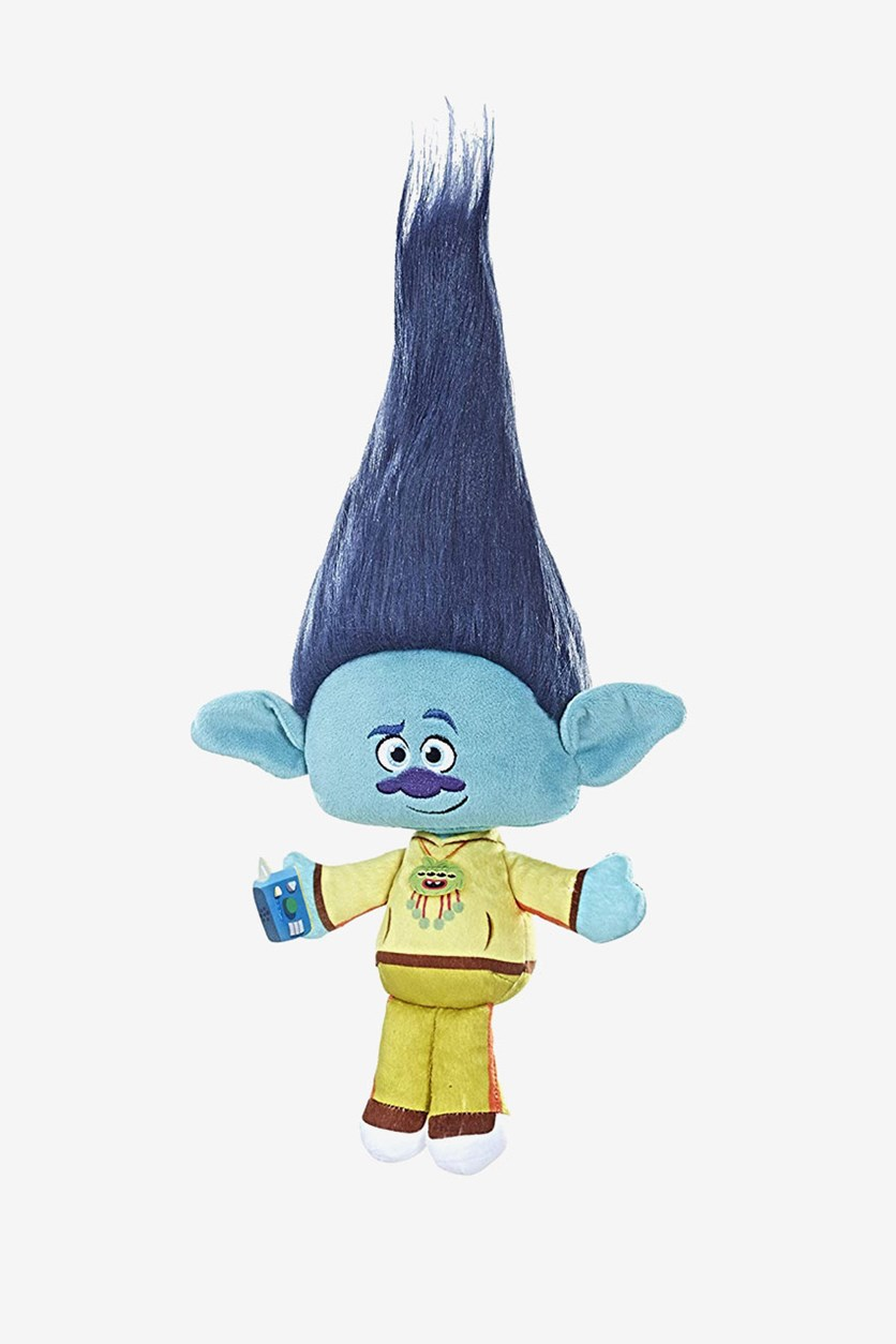 Trolls Stylin Hair Plush, Branch