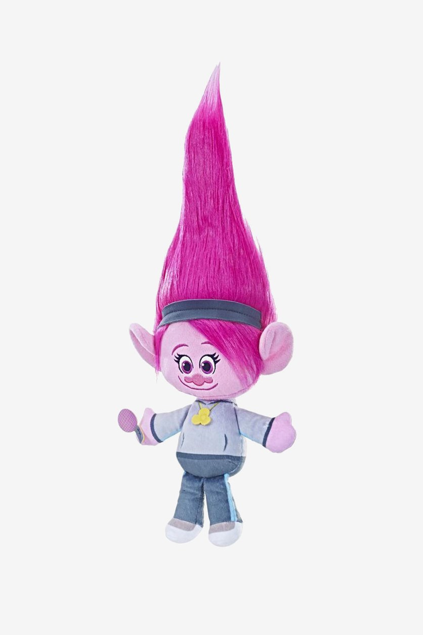 Trolls Stylin Hair Plush, Poppy