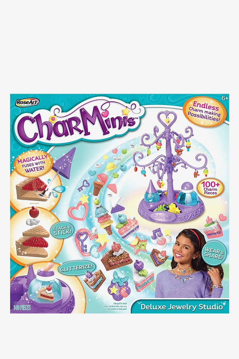 Charninis Deluxe Charm Maker Variety Pack, Purple/Turq