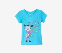 Disney Little Girls Vampirina T-Shirt, Turquoise