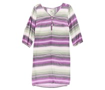 G.h. Bass & Co. Women's Striped Shirt Dress, Purple