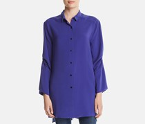 Kenneth Cole Tab-Sleeve Tunic Shirt, Spectrum Blue