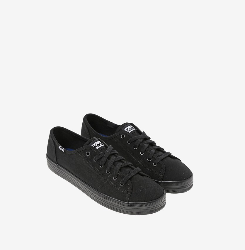 Women Kickstart Shoes, Black