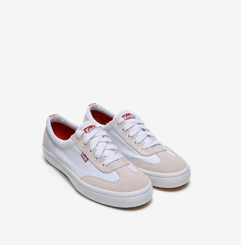 Women Tournament Shoes, White/Beige
