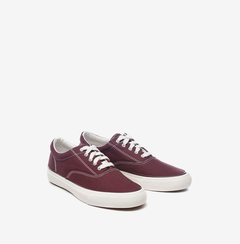 Women's Anchor Solid Shoes, Maroon