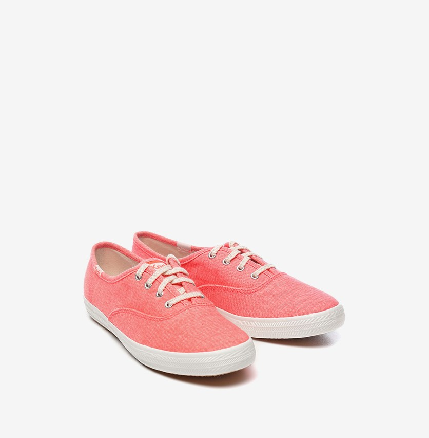 Women Champion Mini Shoes, Bright Coral