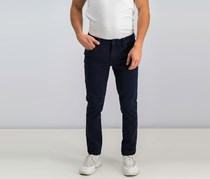 Liverpool Men Slim Straight Pants, Navy