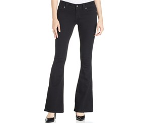 Miss Me Women's Flared Jeans, Black Wash