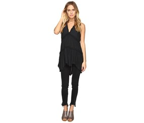 Free People Purple Haze Tunic, Black