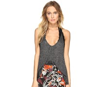 Free People Women's Wear Me Now Tank Top, Black