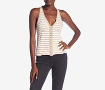 Free People Women's Mylo Stripe Tank, White/Tan