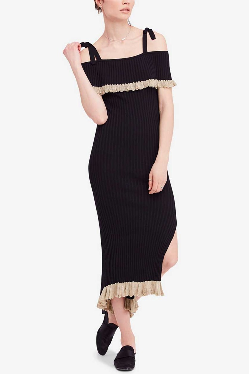 Women's Sweater Dress, Black