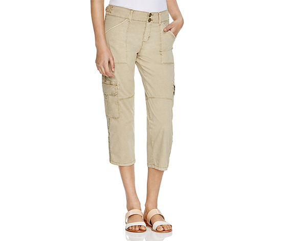 Sanctuary Women's Habitat Nature Crop Pant, Khaki