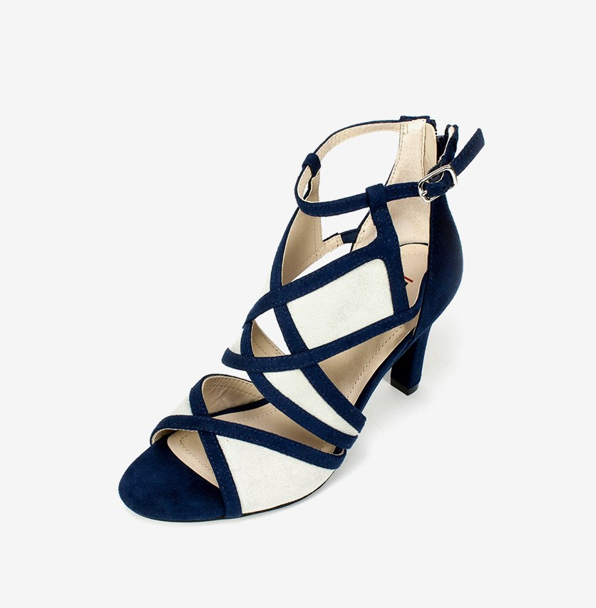 Women's Ria Dress Sandals, Midnight Blue/Grey