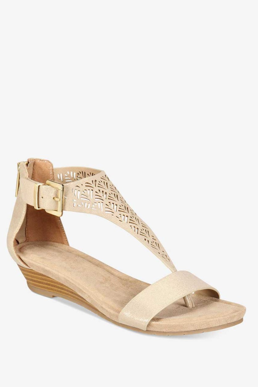Reaction Great Gal Wedge Sandals, Soft Gold