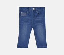 Esprit Little Girl's Slim Fit Denim Pants, Blue