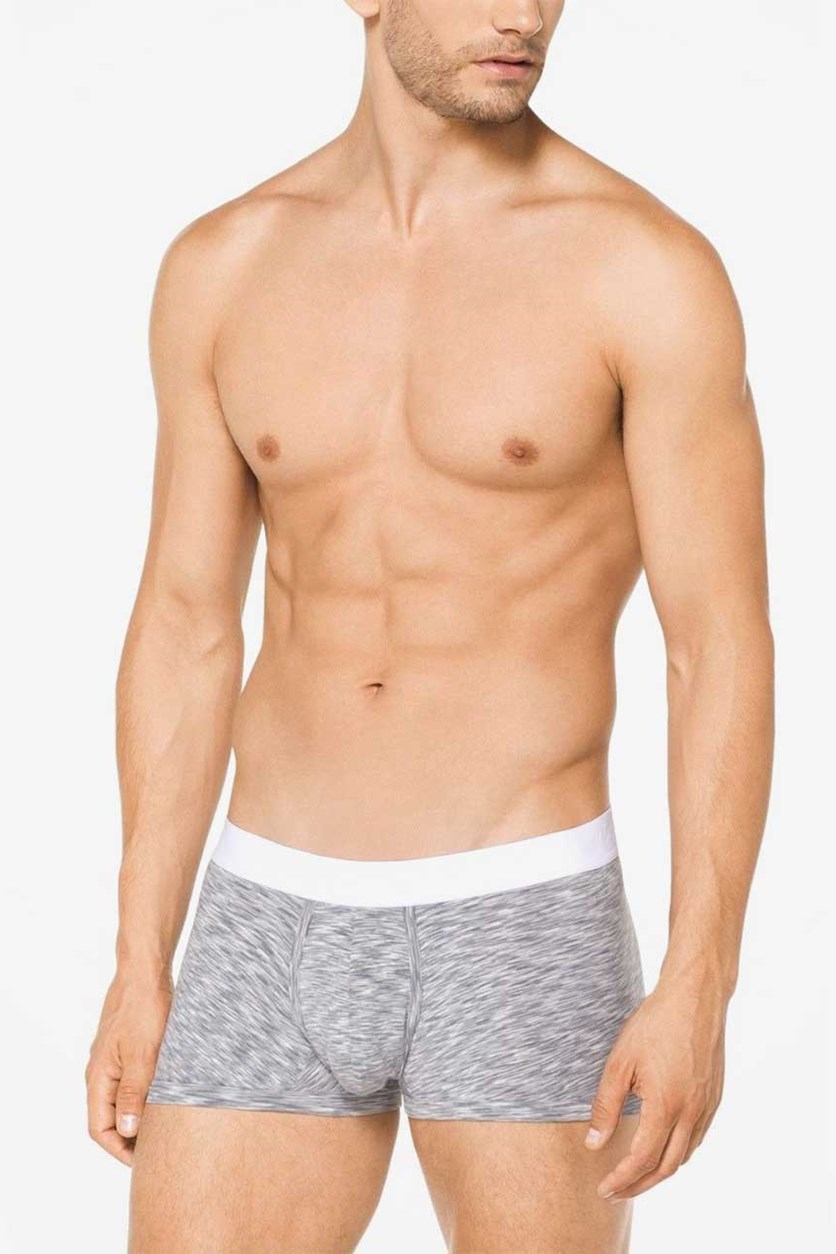Men's Dynamic Stretch Trunk, Grey/White