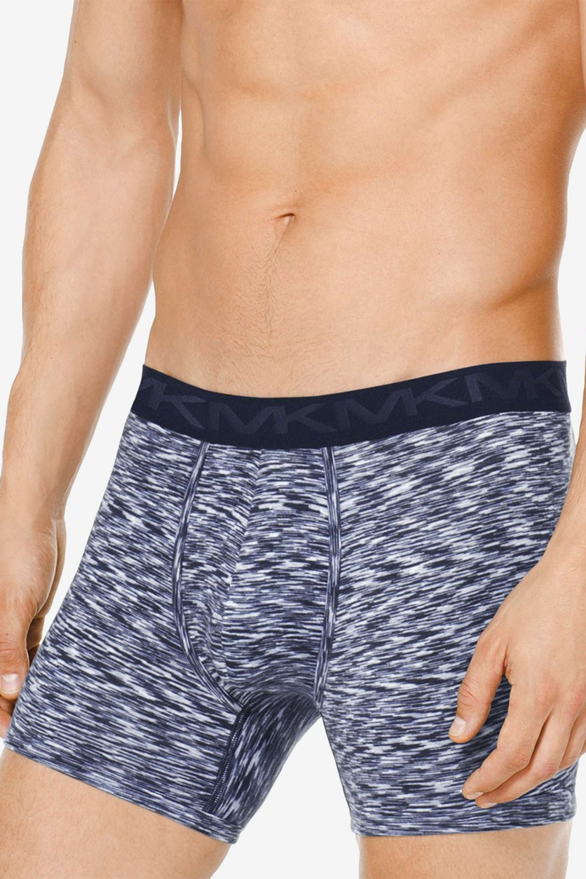 Men's Dynamic Stretch Boxer Briefs, Navy
