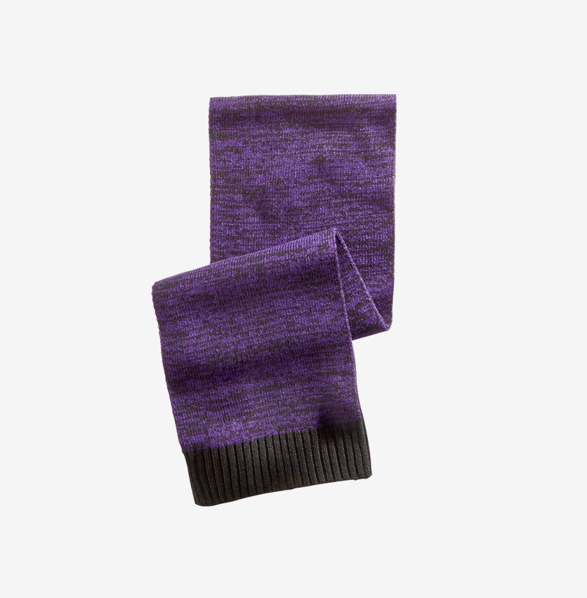 Men's Space-Dyed Scarf, Purple
