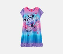 Disney Junior Vampirina Sweetly Vee Nightgown, Purple Combo