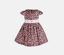 Toddler Girls Smocked Floral Dress, Floral