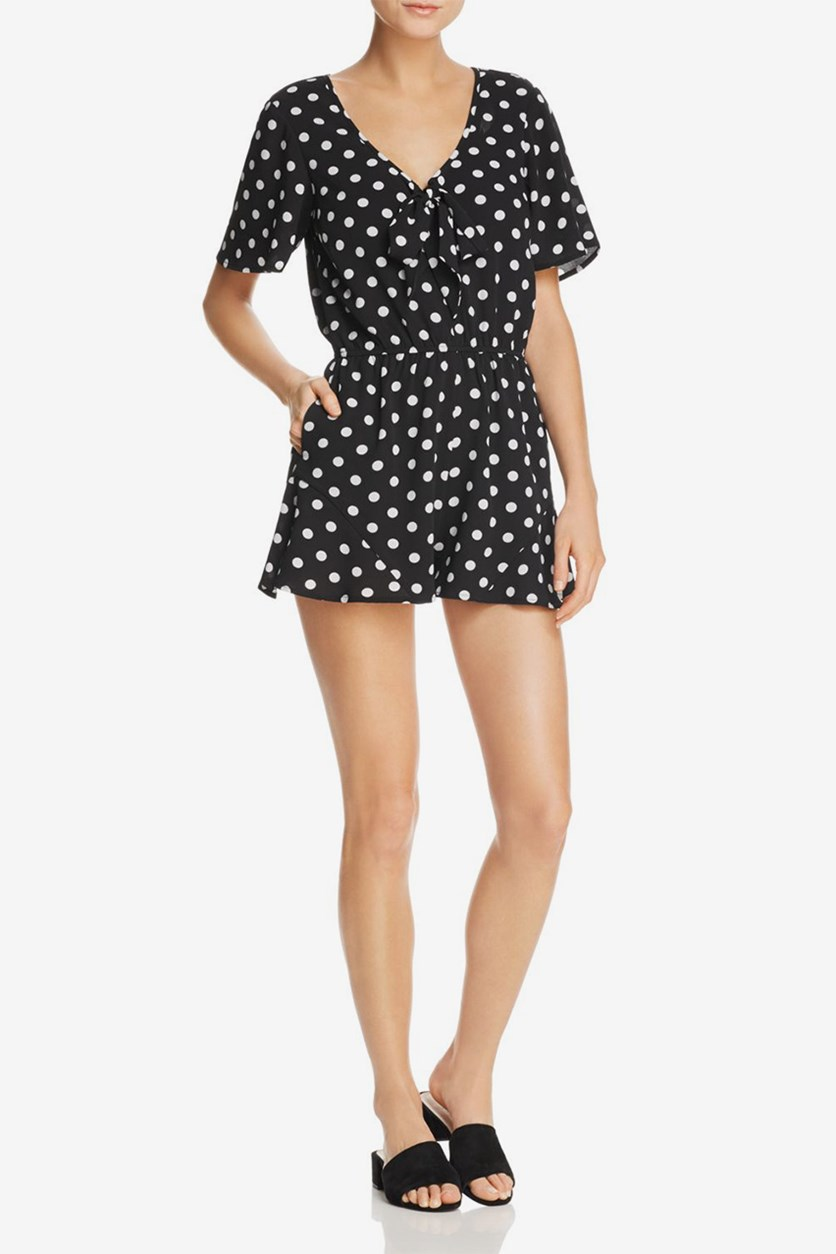 Polka Dot Print, Black