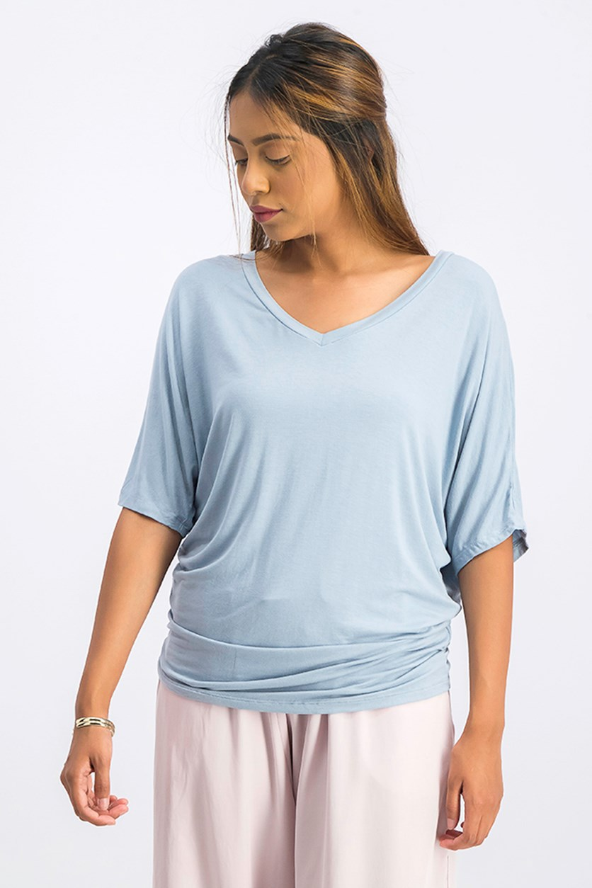 Women Plain Top, Blue