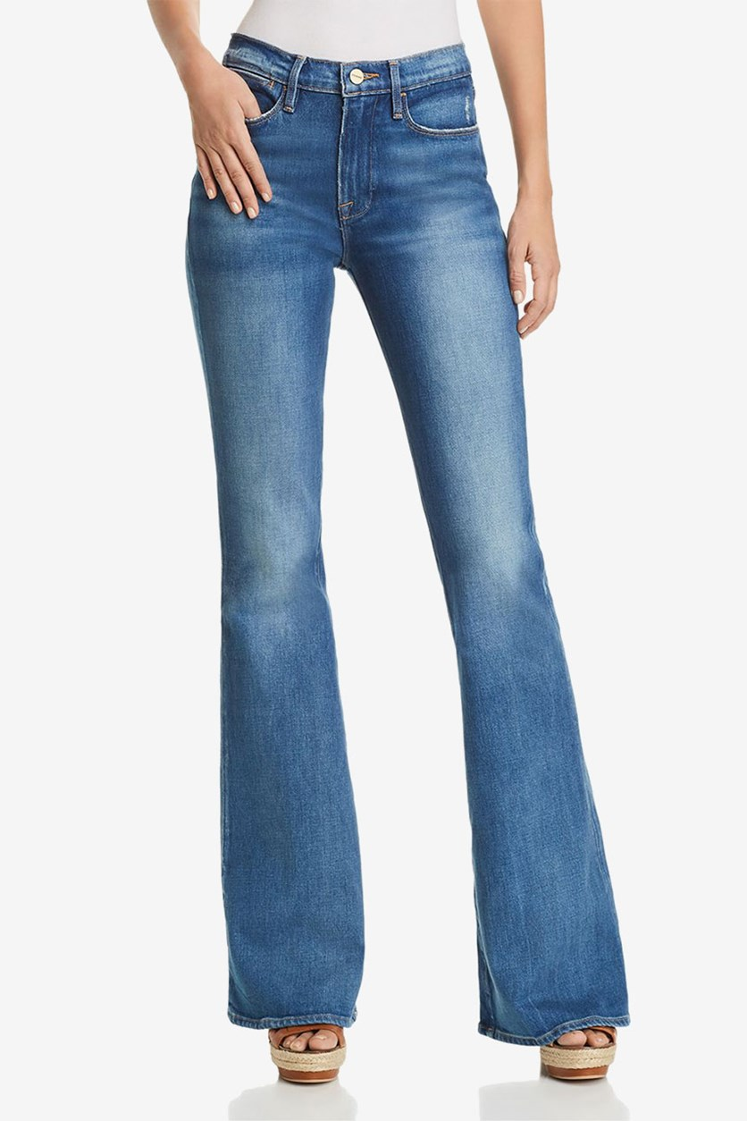 Women's Le High Flared Jeans, Clapps