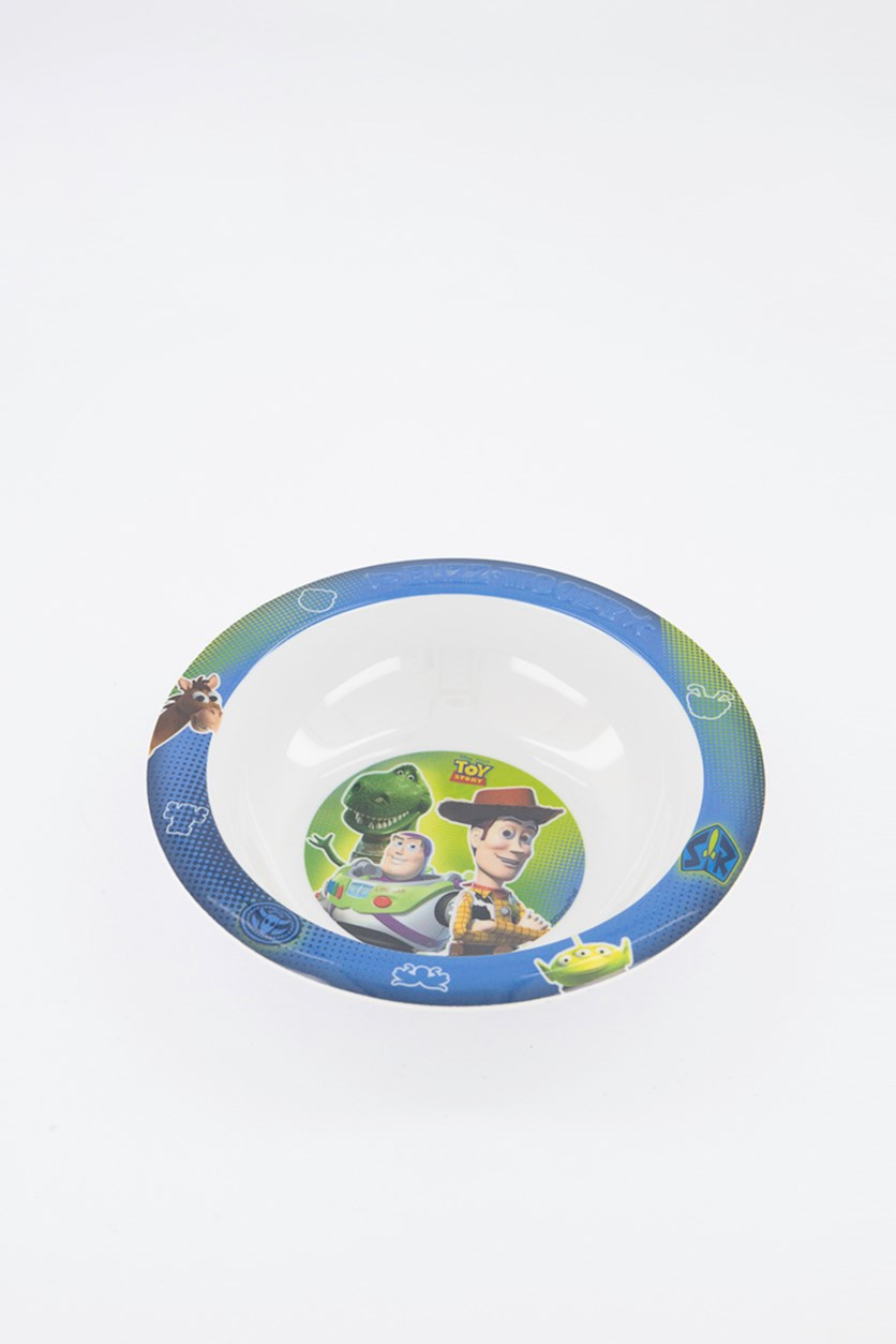 Toy Story Embossed Bowl, Blue/White Combo