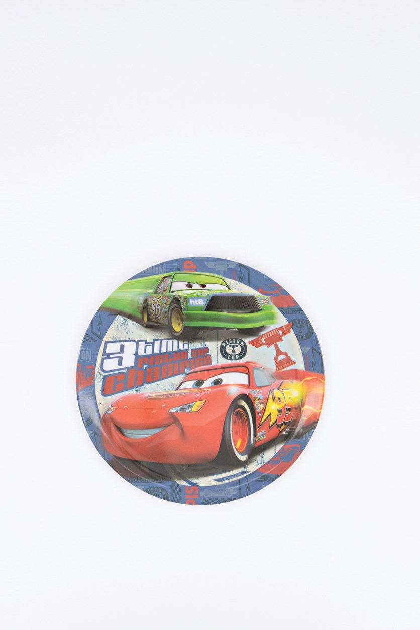 Cars Piston Cup Coupe Plate, Red Combo