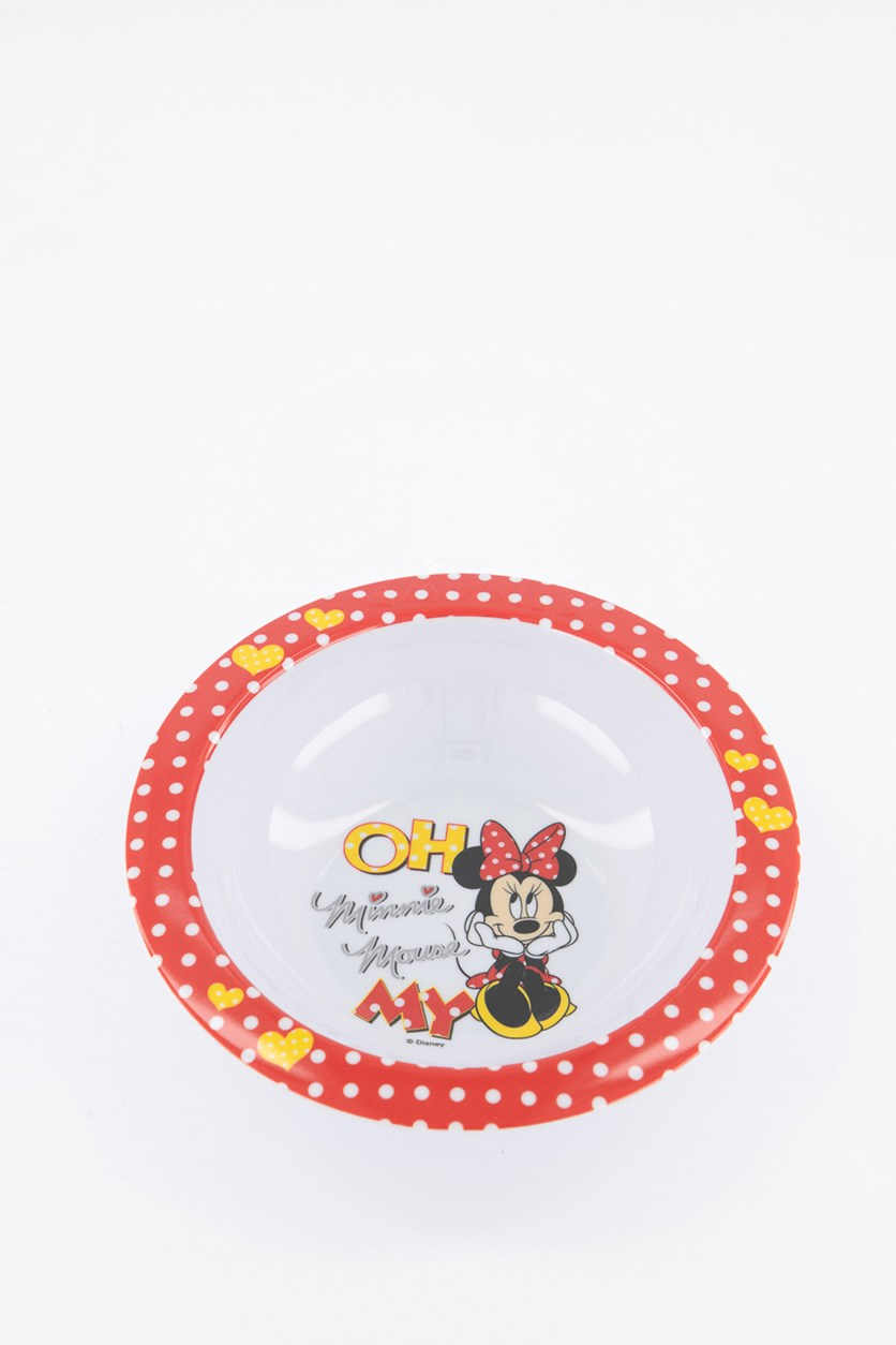 Minnie Oh My Bowl, Red/White Combo