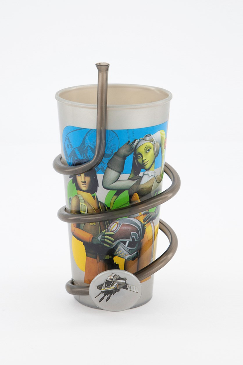 Star Wars Rebels Hope Swirl Tumbler, Grey Combo