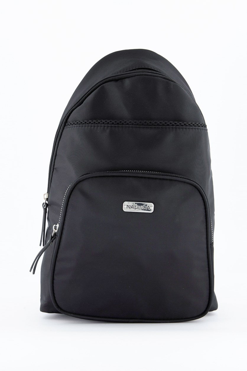 Men's Sling Or Backpack Bags, Black