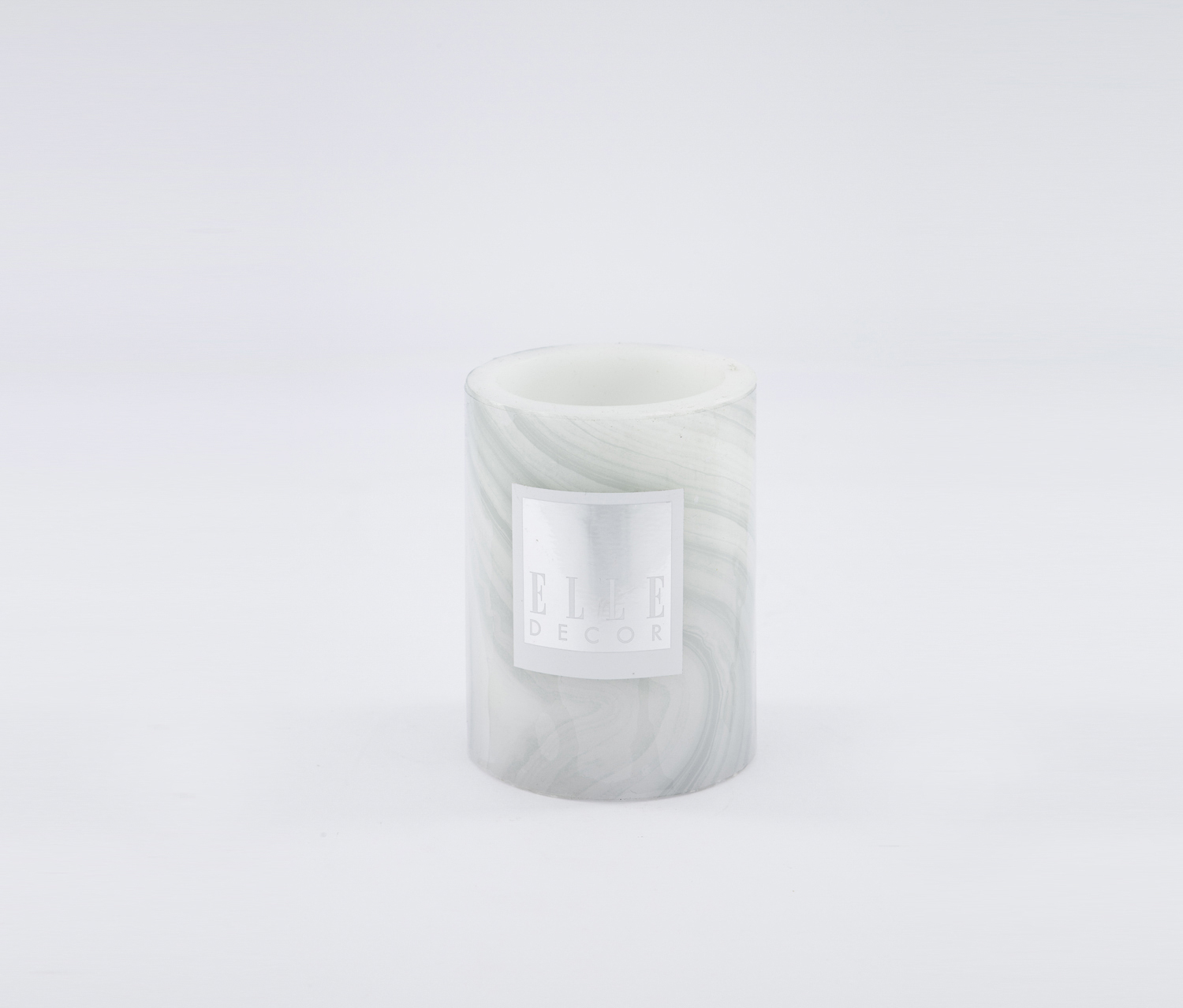 Marble Pillar LED Candle 3